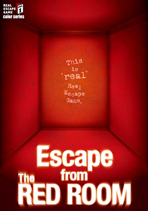 Escape Game Escape from The RED ROOM, SCRAP. Tokyo.